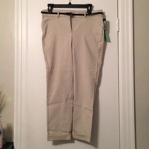 Pants - Khaki slacks.  Petite size 8. New with Tags